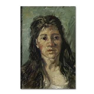 Van Gogh 'Head Of A Prostitute' Canvas Art