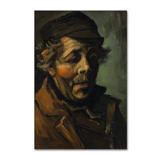 Van Gogh 'Head Of A Peasant' Canvas Art