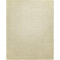 Avalon Tan Wool/Viscose Handmade Area Rug - 10' x 14'