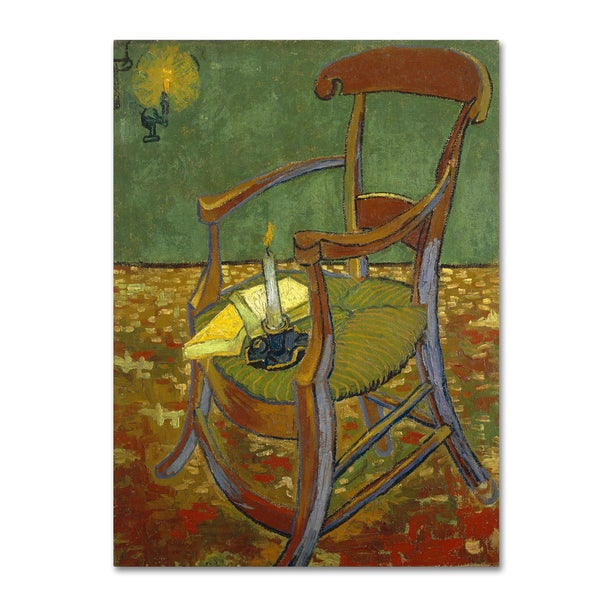 Van Gogh 'Gauguins Chair' Canvas Art