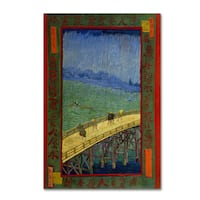 Van Gogh 'Bridge In The Rain After Hiroshige' Canvas Art