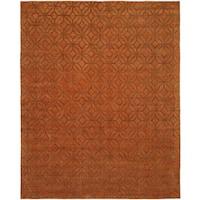 Avalon Spice Handmade Area Rug - 9' x 12'