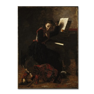 Thomas Eakins 'Home Scene' Canvas Art