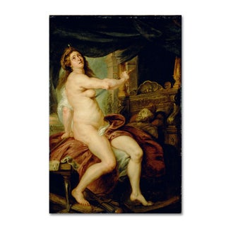 Peter Paul Rubens 'The Death Of Dido' Canvas Art
