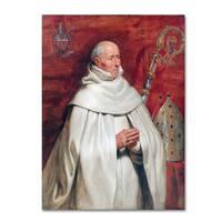 Peter Paul Rubens 'Matthaeus Yrsselius Abbot' Canvas Art