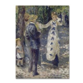 Renoir 'The Swing' Canvas Art
