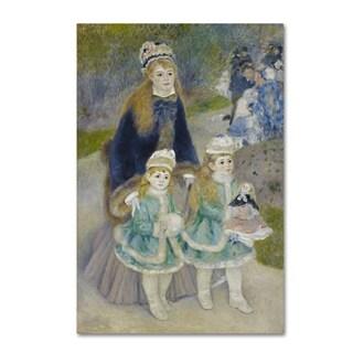Renoir 'Mother And Children' Canvas Art