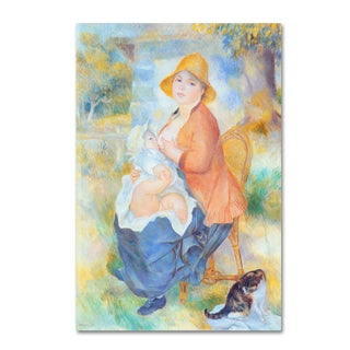 Renoir 'Mother And Child' Canvas Art