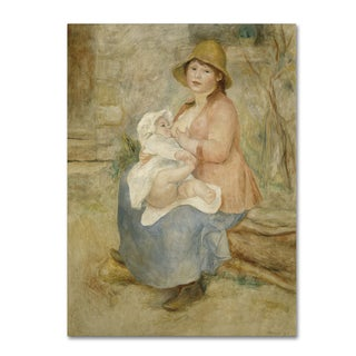 Renoir 'Mother And Child 2' Canvas Art