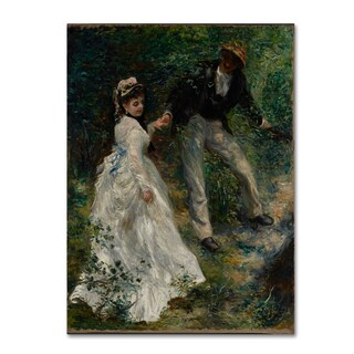 Renoir 'La Promenade' Canvas Art