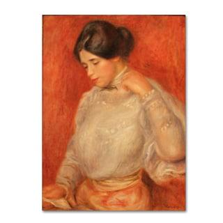 Renoir 'Graziella' Canvas Art