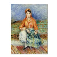 Renoir 'Algerian Girl' Canvas Art