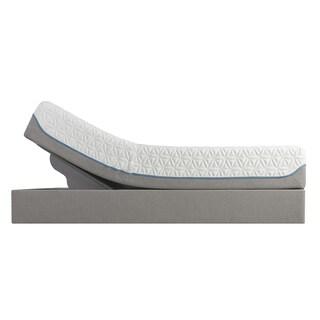 Tempur-Pedic TEMPUR Cloud Supreme Memory Foam 11.5-inch Split King-size Adjustable Mattress Set +$300 Gift Card