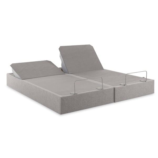 tempurpedic tempur cloud supreme memory foam 115inch split kingsize adjustable mattress set free shipping today