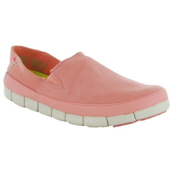 2c033bec220084 Shop Crocs Womens Stretch Sole Slip On Loafers - Free Shipping On ...
