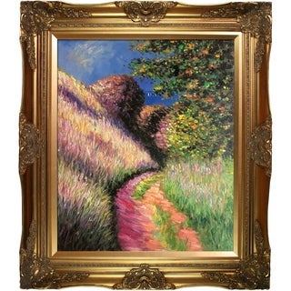Claude Monet Path at Pourville Hand Painted Oil Reproduction
