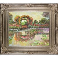 Claude Monet Blutentore in Giverny Hand Painted Oil Reproduction