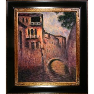 Claude Monet Rio della Salute Hand Painted Oil Reproduction