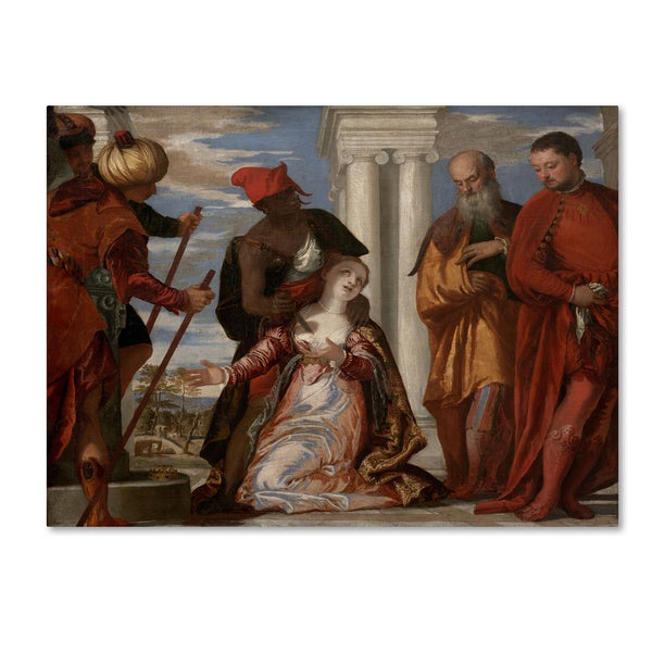 Paolo Veronese 'Martyrdom Of Saint Justina' Canvas Art