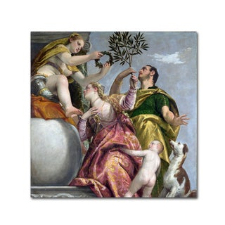 Paolo Veronese 'Allegory Of Love' Canvas Art