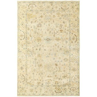 Tommy Bahama Palace Persian Beige/Grey Wool Oriental Area Rug (10 x 14')