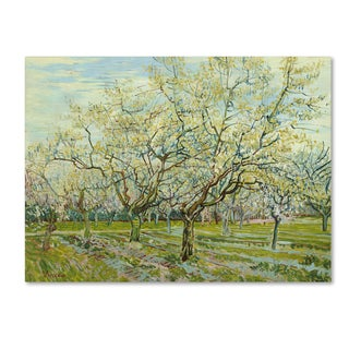 Van Gogh 'The White Orchard' Canvas Art
