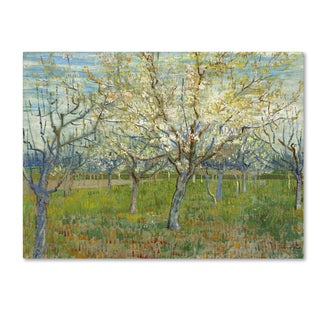 Van Gogh 'The Pink Orchard' Canvas Art