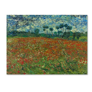 Van Gogh 'Poppy Field' Canvas Art