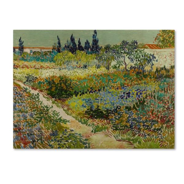 Shop Van Gogh Garden At Arles Canvas Art On Sale