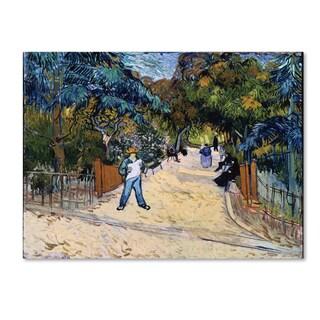 Van Gogh U0027Entrance To The Public Gardens In Arlesu0027 ...