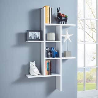 Danya B. Cantilever Wall Shelf - White