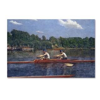 Thomas Eakins 'The Biglin Brothers Racing' Canvas Art