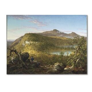Thomas Cole 'Catskill Mountains' Canvas Art