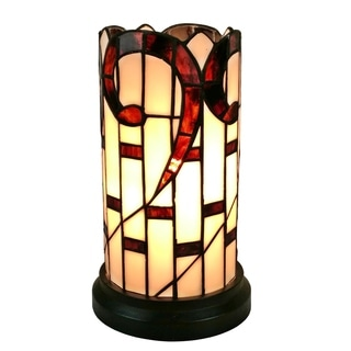 Amora Lighting AM268ACC Tiffany Style Table Accent Lamp