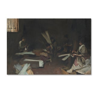 John Singer Sargent 'Venetian Glass Workers' Canvas Art