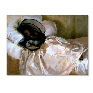 John Singer Sargent 'The Mosquito Net' Canvas Art