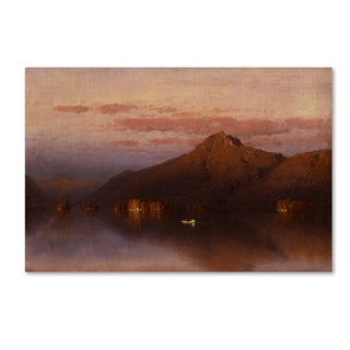 Sanford Gifford 'Whiteface Mountain From Lake Placid' Canvas Art