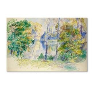 Renoir 'View Of A Park' Canvas Art