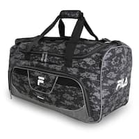 d076a0911f9f Shop Fila Donlon Large 25-inch Duffel Bag - Free Shipping On Orders ...