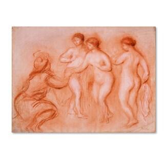 Renoir 'The Judgement Of Paris' Canvas Art