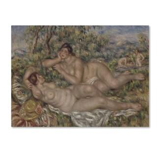 Renoir 'The Bathers' Canvas Art