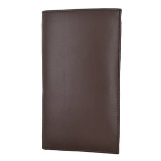 Swiss Marshal RFID Blocking Soft Leather Sim Checkbook Wallet