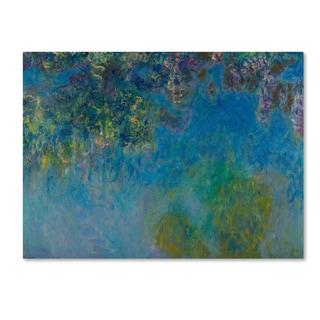 Monet 'Wisteria' Canvas Art
