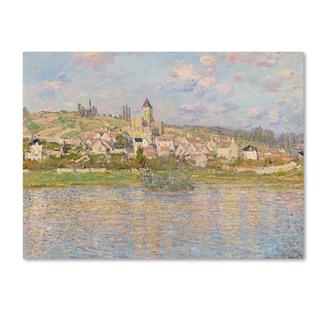 Monet 'Vetheuil' Canvas Art