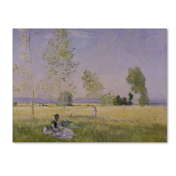 Monet 'Summer' Canvas Art