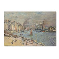 Monet 'Port Of Le Havre' Canvas Art