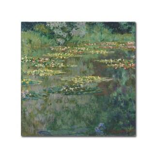 Monet 'Le Bassin Des Nympheas' Canvas Art