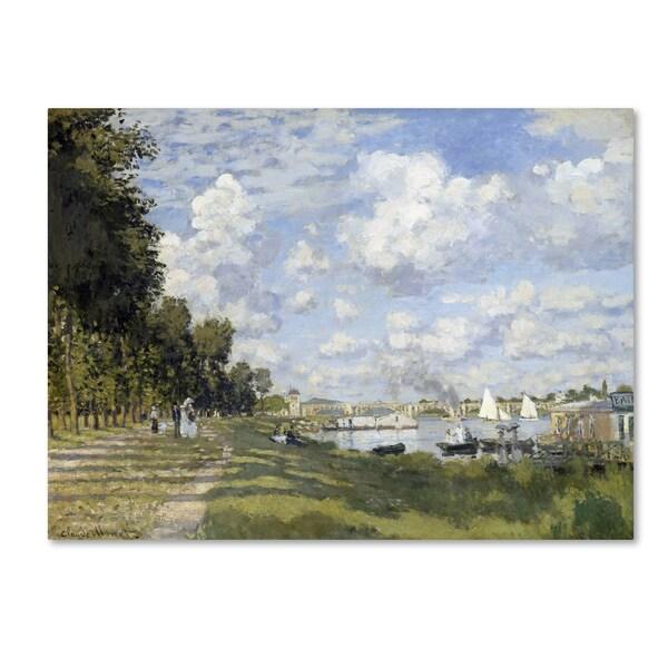 Monet 'Bassin Dargenteuil' Canvas Art