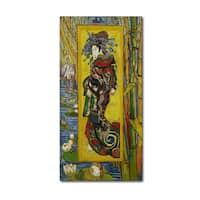 Van Gogh 'Courtesan After Eisen' Canvas Art