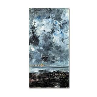 Strindberg 'The Town' Canvas Art